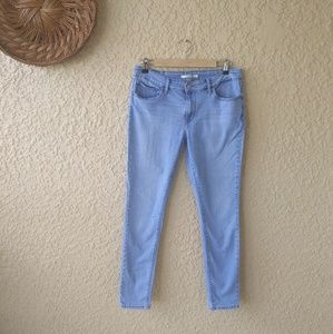 Levi's 711 super skinny jeans light wash